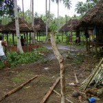These are two of the thirty villages built by Aton Productions in Barangay Toril, the dwelling places of the poor farmers of San Isidro.