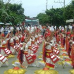Tribu Barangay Lincod during the Enting-enting Festival which highlighted the many miracles of Saint Vincent Ferrer through a free-interpretation and ritual performances last May 5.