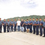 PNP Maribojoc with Mayor Evasco &amp; COS Oscar Valles