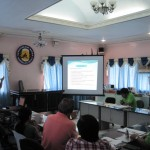 Engr. Bunado discusses the major land use proposals for the town.
