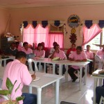 Mayor Leoncio B. Evasco, Jr. attended the regular meeting of the punong barangays last Wednesday at the Maribojoc Presidencia Multi-purpose Hall.  Evasco reiterated the significance of the tree planting and growing program of the municipal and national government.