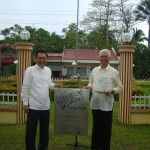 Mayor Leoncio B. Evasco, Jr. and Vice-Mayor Fructuoso F. Redulla, Jr.