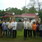 Mayor Leoncio B. Evasco, Jr., Vice-Mayor Fructuoso F. Redulla, Jr. and the Municipal Assessor & LGU-LAMP2 Staff
